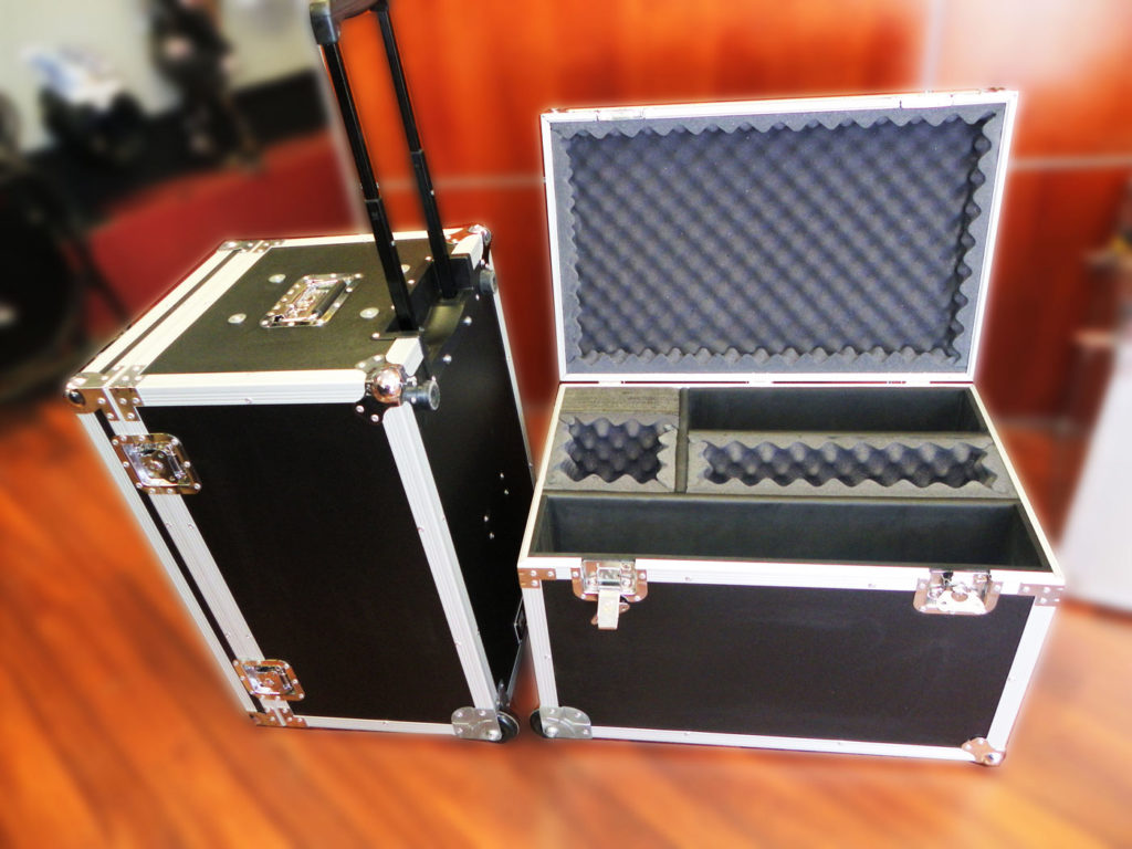 Flight Case with Dividers